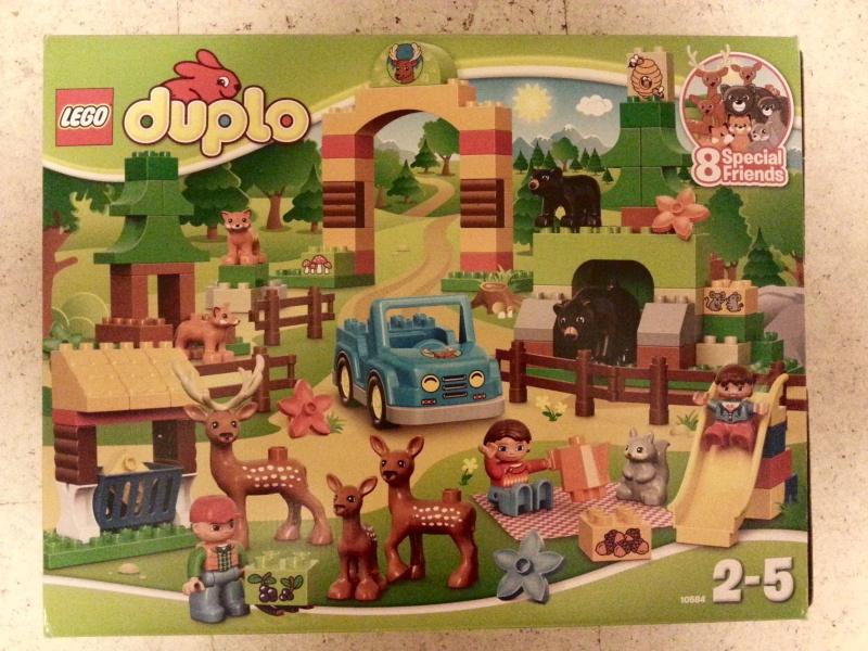 Обзор на Конструктор Lego Duplo 10584 Лесной заповедник - изображение 1