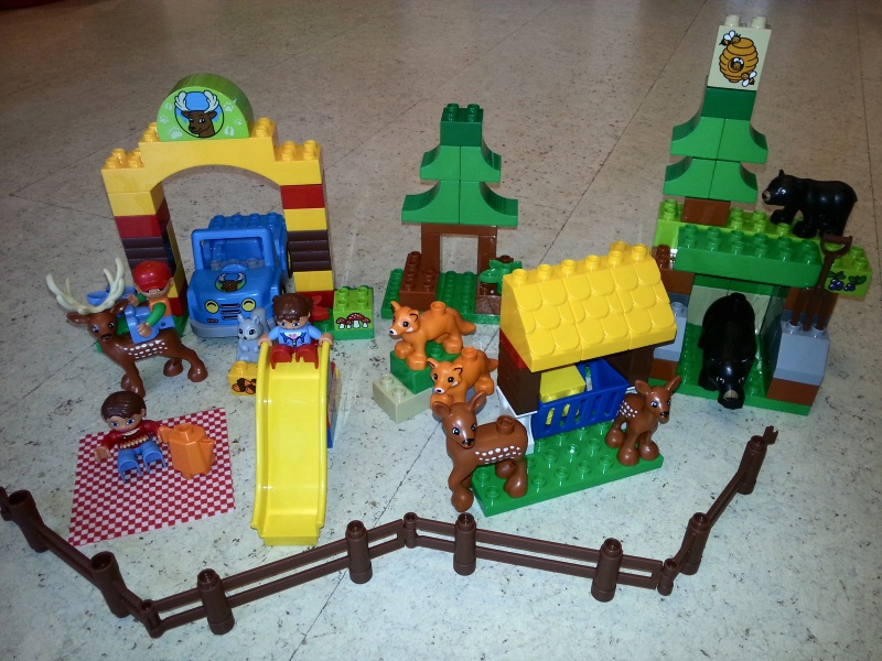 Обзор на Конструктор Lego Duplo 10584 Лесной заповедник - изображение 2