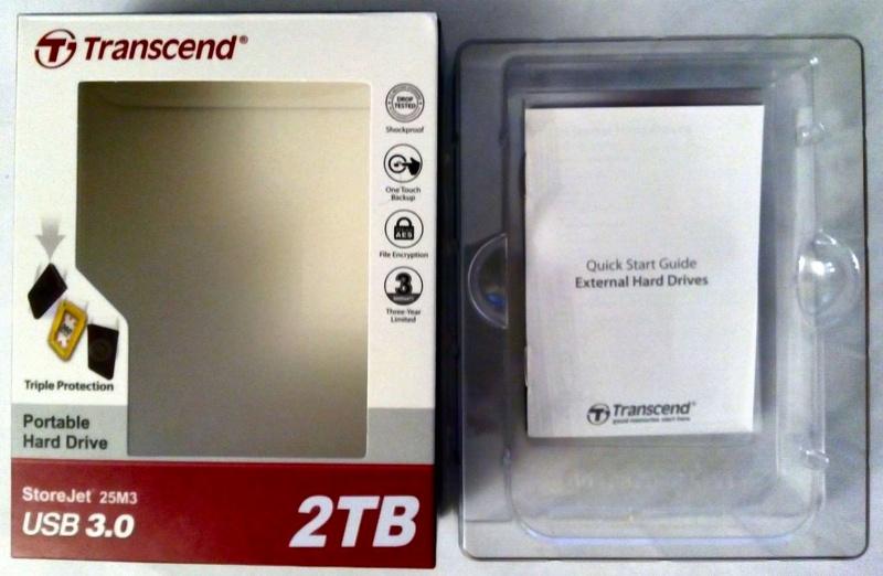 "Обзор на Внешний жесткий диск Transcend StoreJet 25M3 2.5"" 2.0Tb USB 3.0 TS2TSJ25M3 - изображение 1"