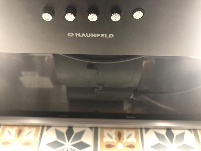 Обзор на Кухонная вытяжка Maunfeld CROSBY SINGL 60 ЧЕРНЫЙ - изображение 2