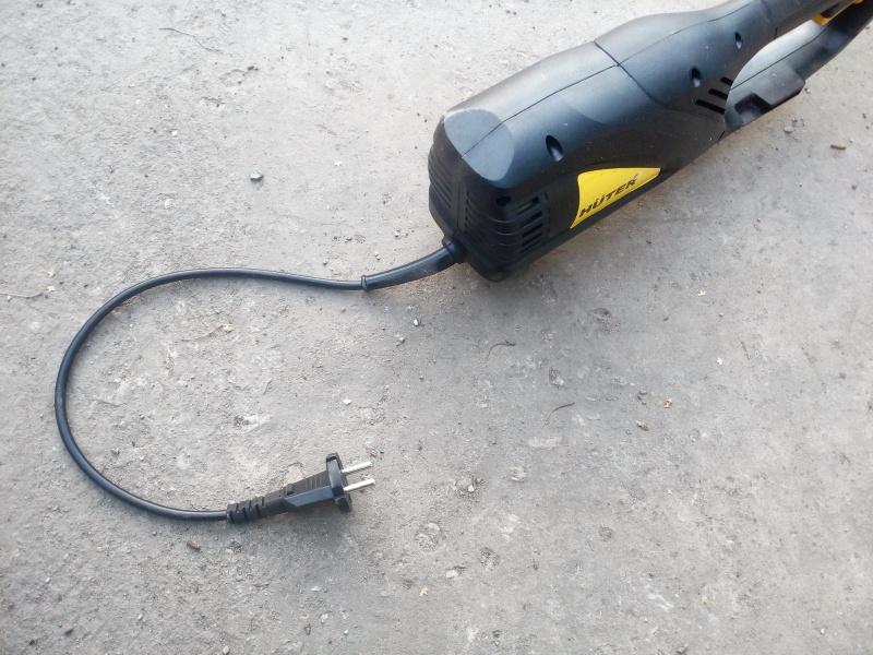 Триммер электрический Huter GET-1200SL - изображение 6
