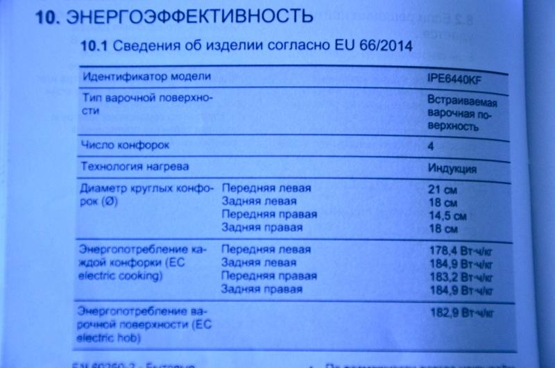 Обзор на Индукционная варочная панель Electrolux IPE 6440 KF - изображение 10