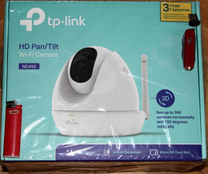 Обзор на Сетевая интернет-камера TP-LINK NC450 - изображение 2