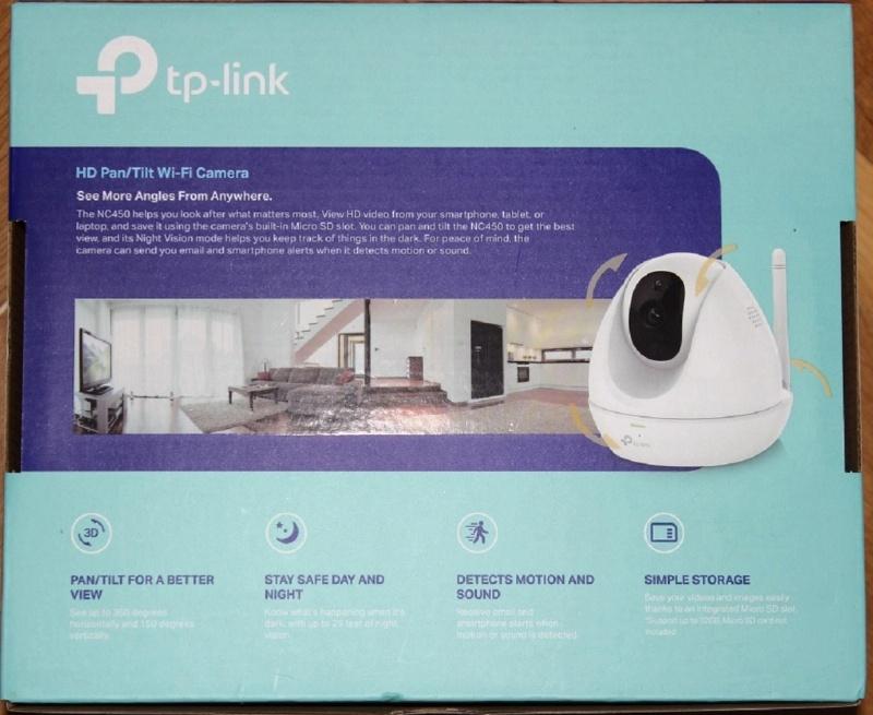 Обзор на Сетевая интернет-камера TP-LINK NC450 - изображение 7