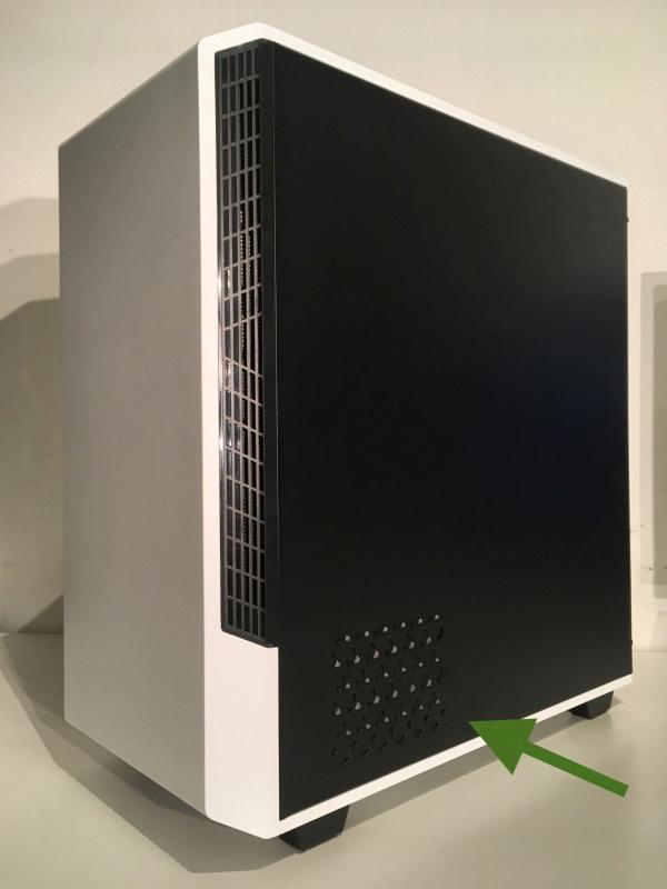 Обзор на Корпус GameMax MFG. T802 Panda White - изображение 8