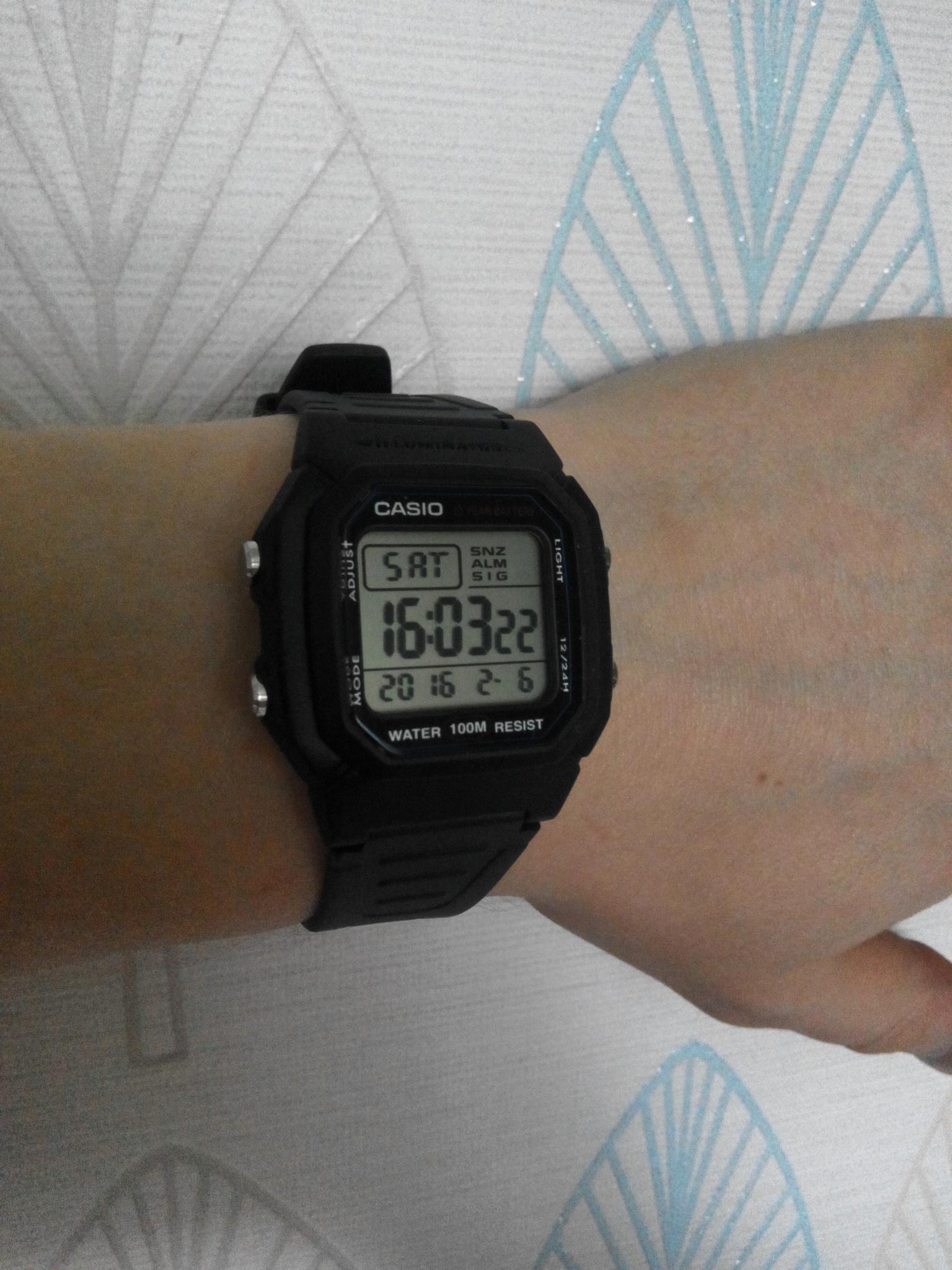 Наручные часы casio w 800h 1a