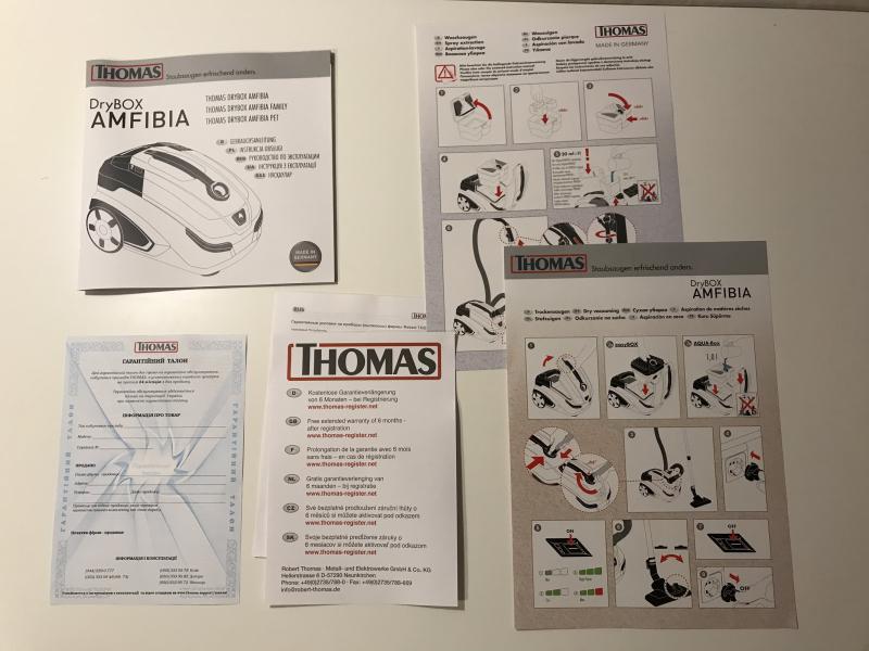 Обзор на Моющий пылесос Thomas DryBox Amfibia Family - изображение 26