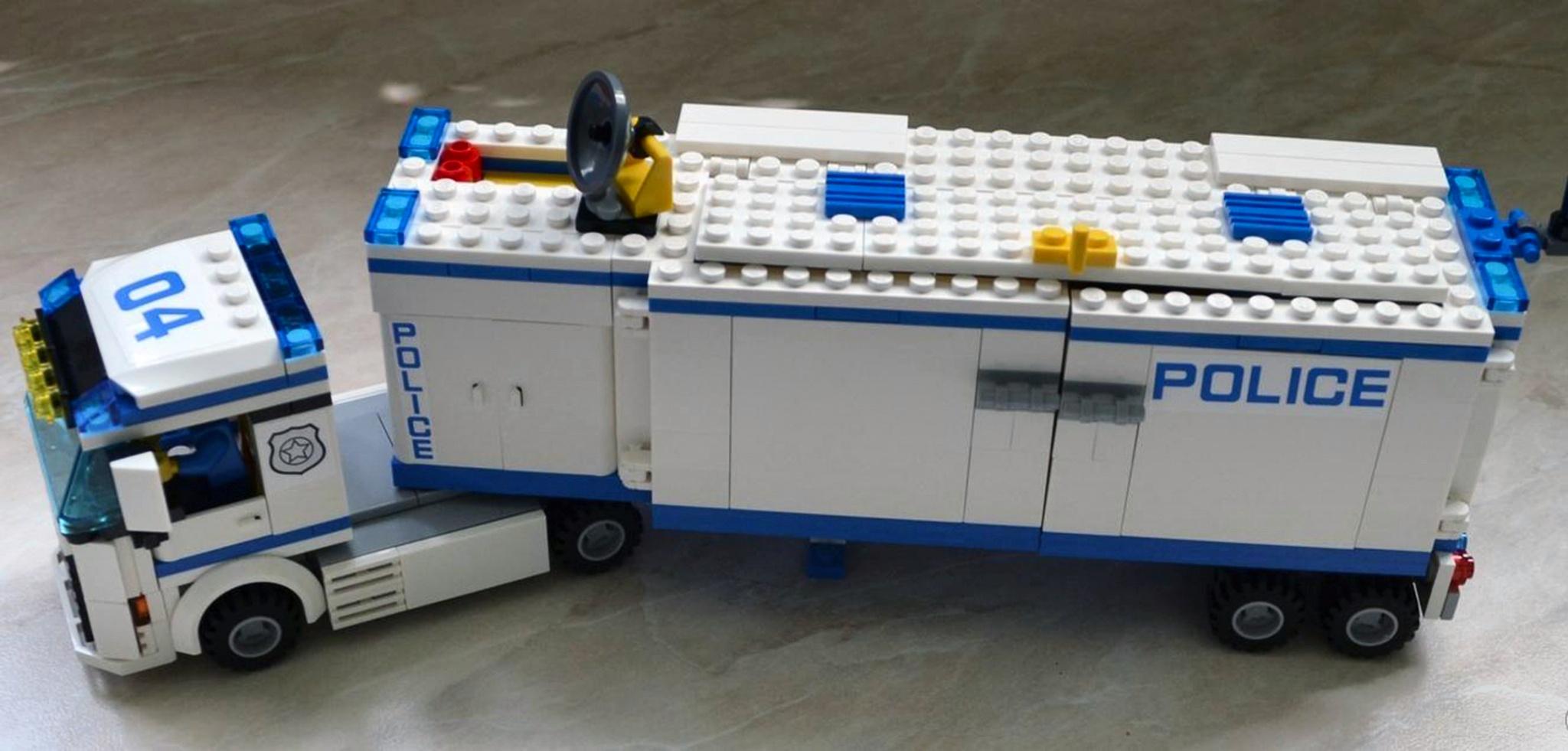 лего полицейская машина 60044 инструкция