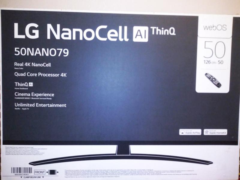 Обзор на Телевизор LG 50NANO796NF, NanoCell, 4K Ultra HD, титан - изображение 2