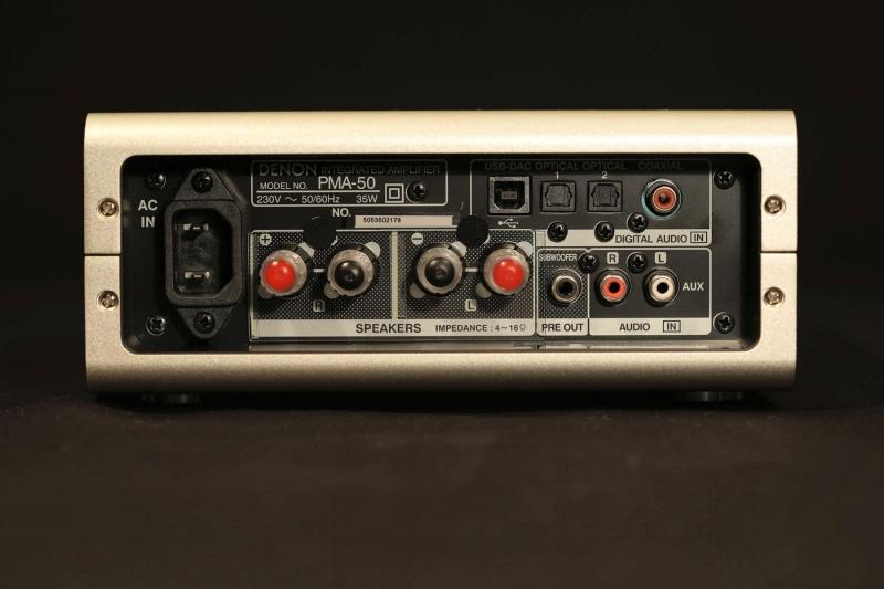 Обзор на Стереоусилитель Denon PMA-50 - изображение 7