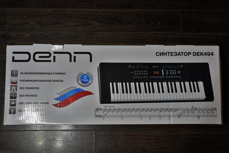 Обзор на Синтезатор DENN DEK494 49 клавиш - изображение 3