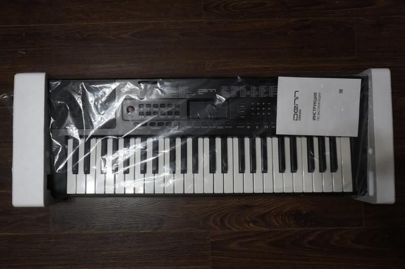 Обзор на Синтезатор DENN DEK494 49 клавиш - изображение 5
