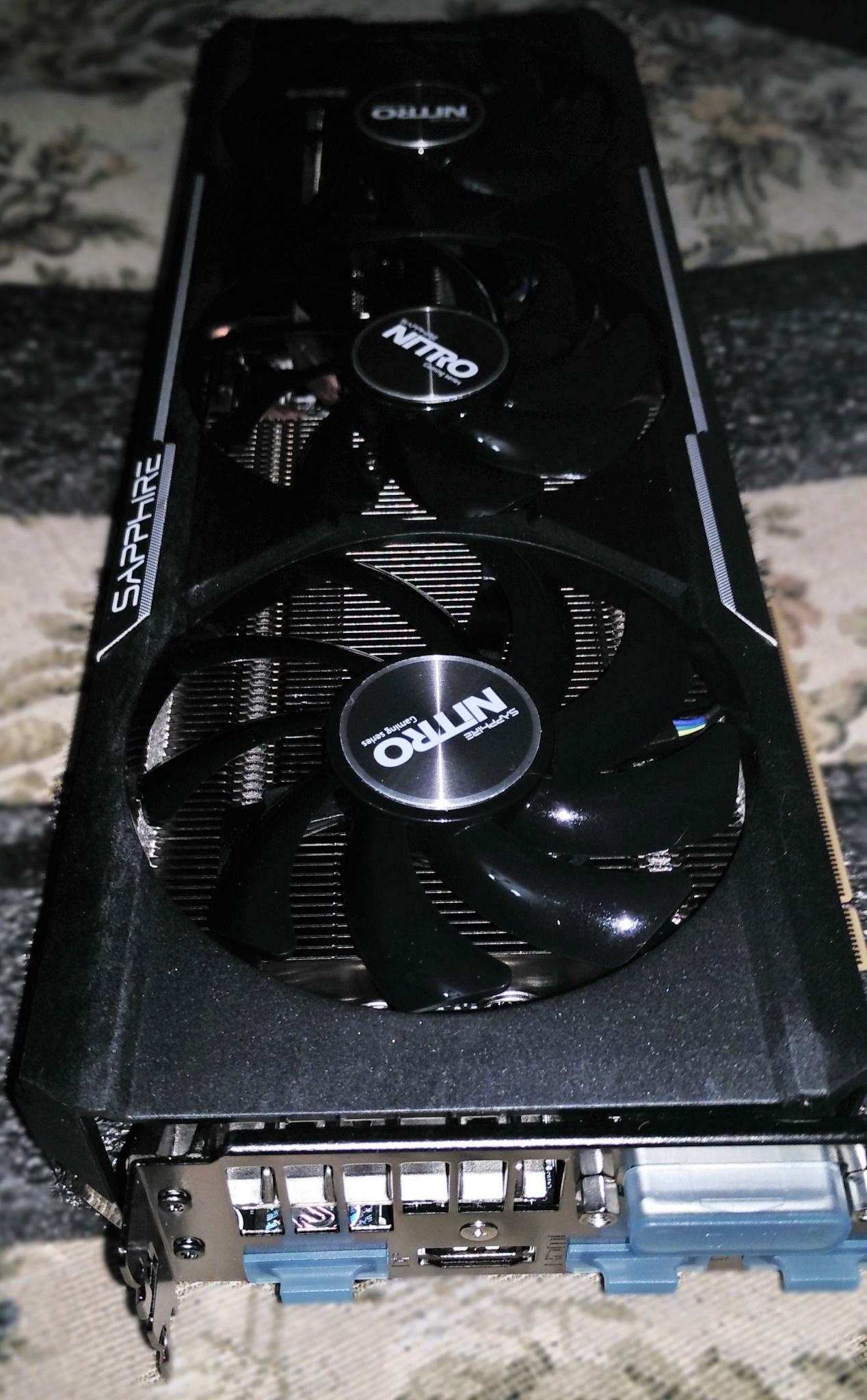 Обзор от покупателя на Видеокарта Sapphire Radeon R9 390