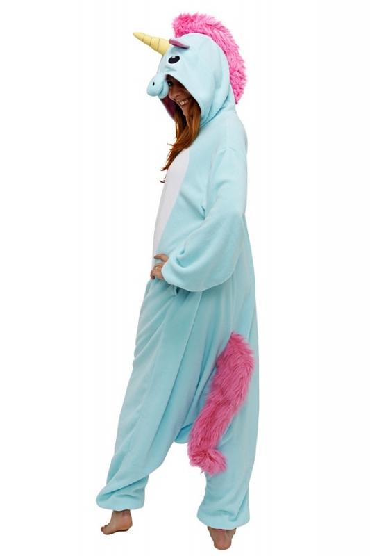 Кигуруми взрослый BearWear BW1008 Единорог голубой размер XL Изображение 3  - купить в интернет магазине с 34d77ff2486e0