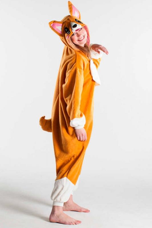 09eb1bd7c71f Кигуруми взрослый BearWear BW1016 Собака Корги размер S Изображение 1 -  купить в интернет магазине с