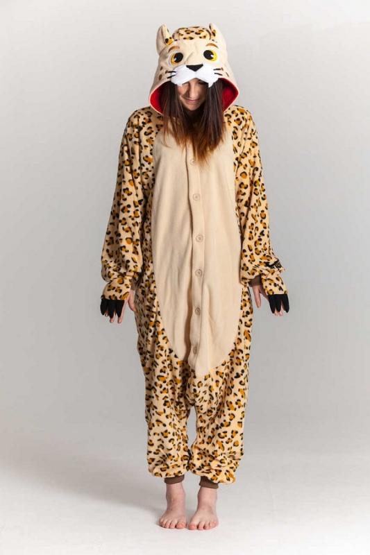 118027a74b65 Кигуруми взрослый BearWear BW1055 Леопард размер S Изображение 1 - купить в интернет  магазине с доставкой