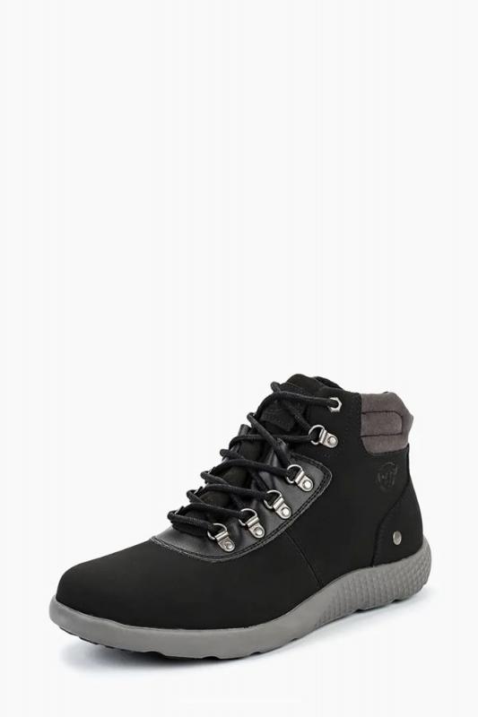 Ботинки ASCOT ASC 002 01 MUNICH мужские, цвет чёрный, серый, рус. размер 41 — купить в интернет-магазине ОНЛАЙН ТРЕЙД.РУ