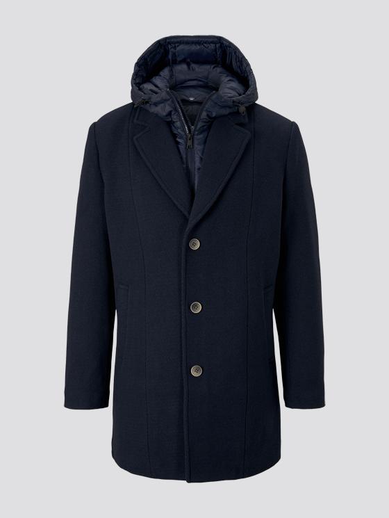 Пальто TOM TAILOR 1020249/10668 мужской, цвет темно-синий, размер XXL 1020249/10668-XXL - купить по выгодной цене в интернет-магазине ОНЛАЙН ТРЕЙД.РУ Воронеж