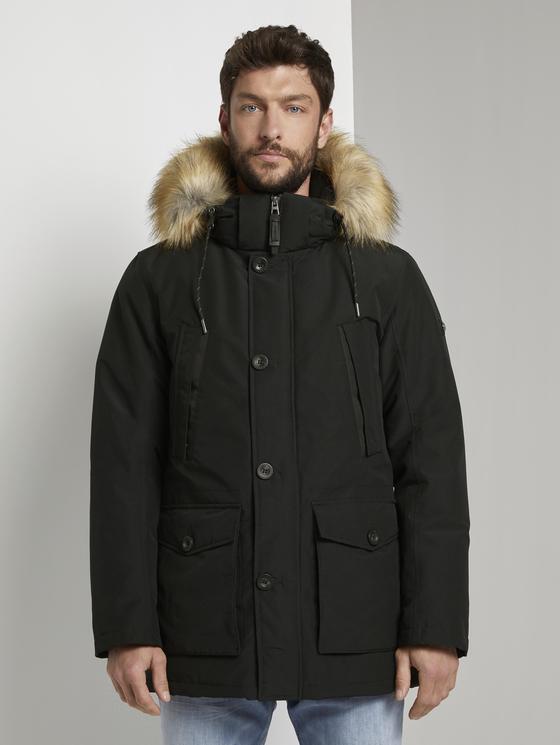 Куртка TOM TAILOR 1020701/18848 мужская, цвет черный, размер L — купить в интернет-магазине ОНЛАЙН ТРЕЙД.РУ