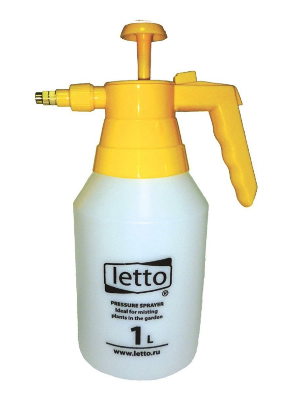 Флакон-распылитель LETTO цвет белый, 1 л (Уценка - У1) — купить в интернет-магазине ОНЛАЙН ТРЕЙД.РУ