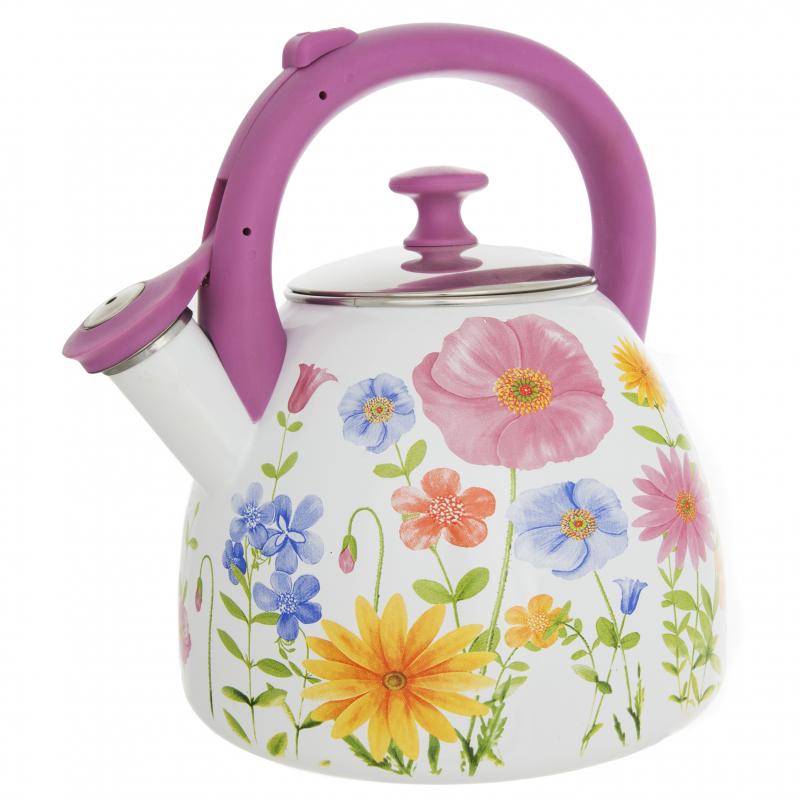 Чайник со свистком Чудесница ЭЧ-3005 эмалированный, 3л (Уценка - У3) — купить в интернет-магазине ОНЛАЙН ТРЕЙД.РУ