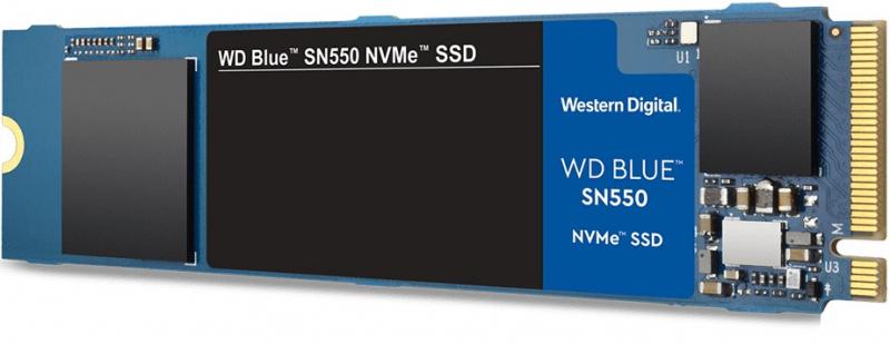 SSD диск Western Digital Blue SN550 M.2 2280 500 Gb PCIe Gen3x4 NVMe 3D NAND TLC (WDS500G2B0C) (Уценка - УП1) — купить в интернет-магазине ОНЛАЙН ТРЕЙД.РУ