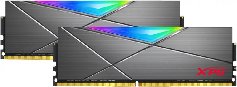 Оперативная память ADATA DDR4 16Gb (2x8Gb) 4133MHz pc-33000 XPG SPECTRIX D50 RGB Grey (AX4U41338G19J-DT50) — купить в интернет-магазине ОНЛАЙН ТРЕЙД.РУ