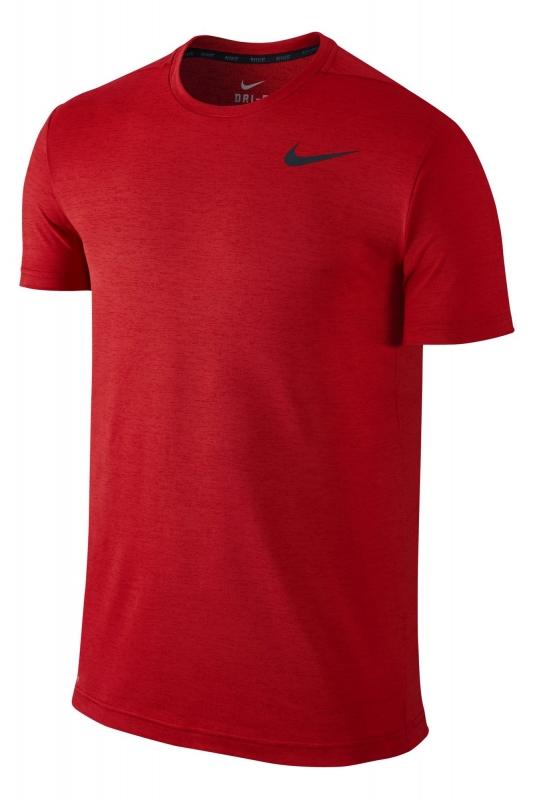 7eac0497a494a Футболка NIKE DRI-FIT TRAINING SS 742228-657 мужская, цвет красный ...