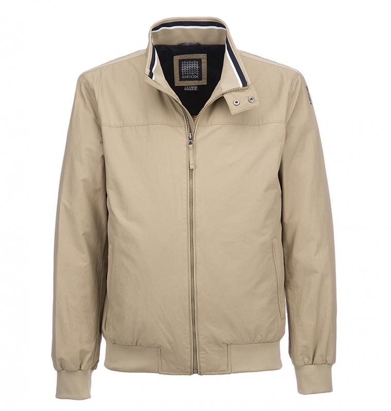 472bc1c3df30 Куртка GEOX M6220DT2270F5013 мужская, цвет песочный, рус. размер 52  Изображение 1 - купить