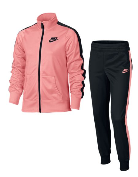 14df71bc Спортивный костюм Nike Girls' Sportswear Track Suit 806395-808 для ...
