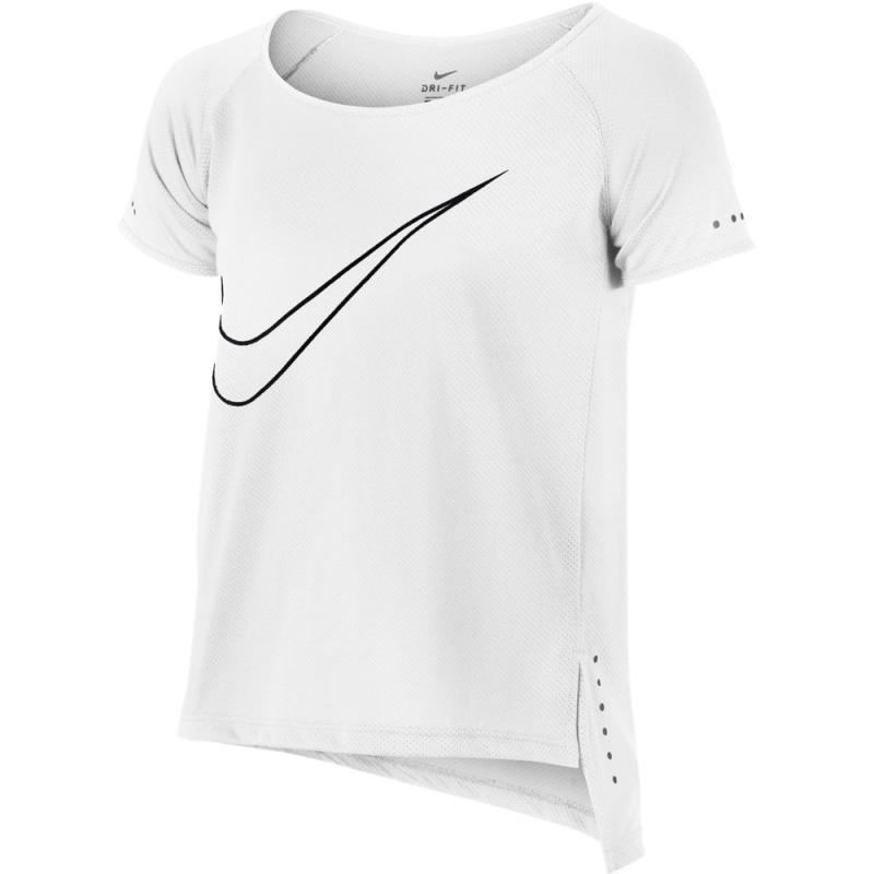b0bfe412 футболка Nike Top Ss City 863360 100 для девочки цвет белый рост