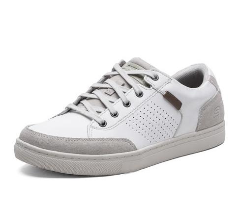 8693b8d38977 Кеды Skechers 64796-OFWT мужские, цвет белый, рус. размер 44 Изображение 1