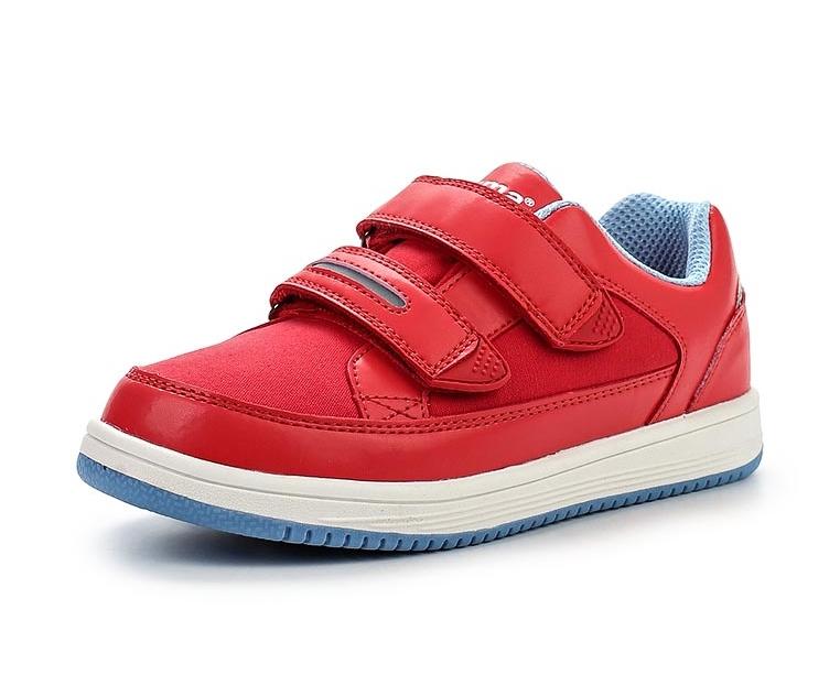 Кроссовки Reima 569304 для девочки, цвет красный, размер 31 Изображение 1 -  купить в 320e1bb1a86