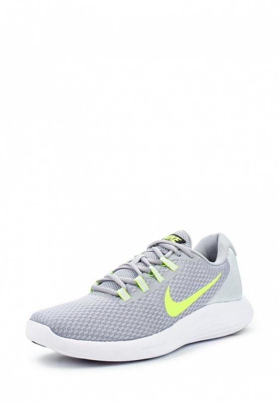 Кроссовки Nike Men s LunarConverge 852462-003 мужские, цвет серый, рус.  размер 42 3b8f372251c