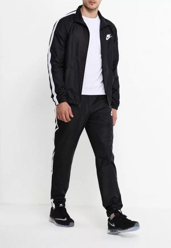 74c17487 Спортивный костюм NIKE NSW TRK SUIT WVN SEASON 832846-010 Мужской ...