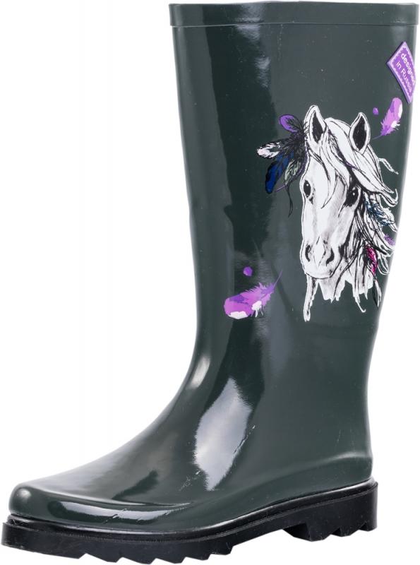 4cf26b346 Резиновые сапоги КОТОФЕЙ 766050-11 для девочки цвет черный рус. размер 38