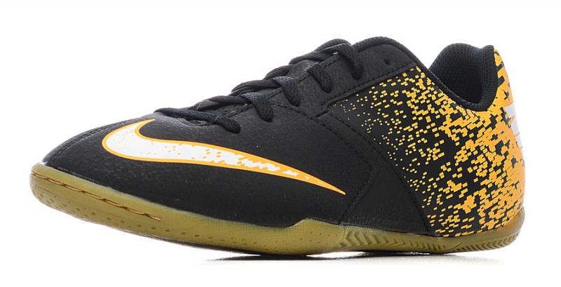 67ca1ae0ff99 Бутсы Nike Jr. BombaX 826487-002 для мальчика, цвет черный, рус ...