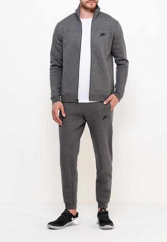 b8daa950a006 Спортивный костюм NIKE Nsw Trk Suit 861776-071 мужской, цвет серый, рус.
