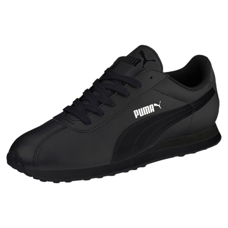 Кроссовки PUMA 36011606 Turin мужские, цвет черный, размер 43,5 Изображение  1 - 96434c70d06