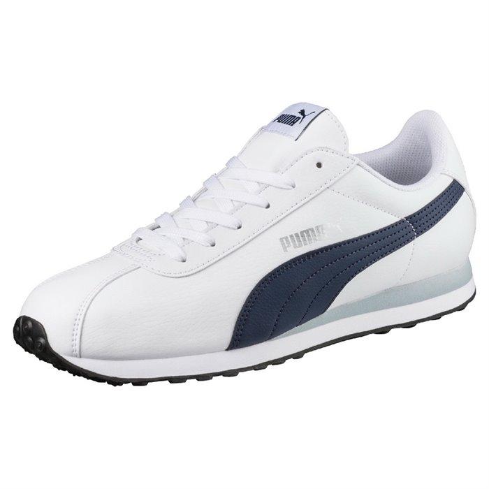 Кроссовки PUMA 36011622 Turin мужские, цвет белый, размер 43 Изображение 1  - купить в 8797e07c24c