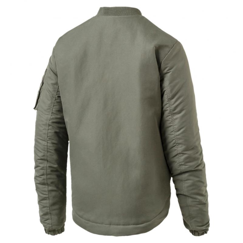 13dcc7a139f5 Куртка PUMA 59486439 Style Bomber мужская, цвет хаки, размер 46-48  Изображение 2