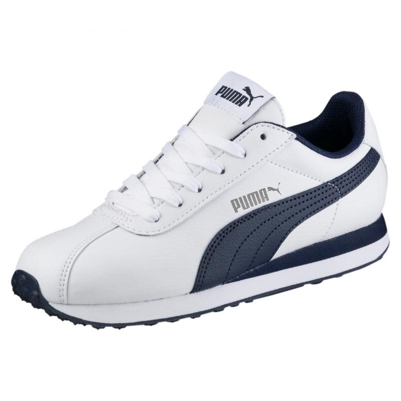 54c1518c Кроссовки PUMA 36091402 Turin Jr для мальчика, цвет белый, размер 36  Изображение 1 -
