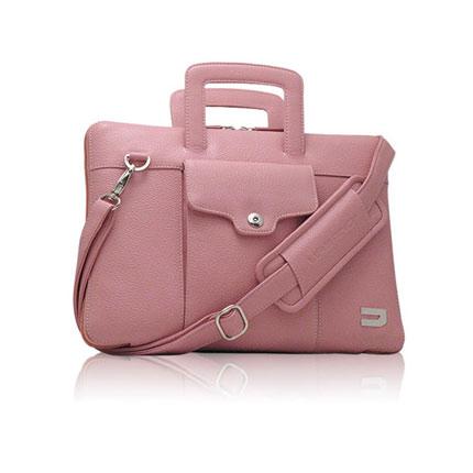 Чехол-портфель для Macbook 13 Urbano UZRB13-03/P (кожа, розовый)