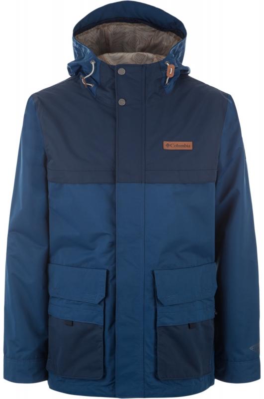 2b76cc7cd051 Куртка Columbia 1714071-469 South Canyon™ Interchange Shell мужская, цвет  синий, размер