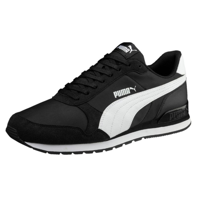Кроссовки PUMA 36527801 ST Runner v2 NL мужские, цвет черный, размер 43  Изображение 1 efc89710b30