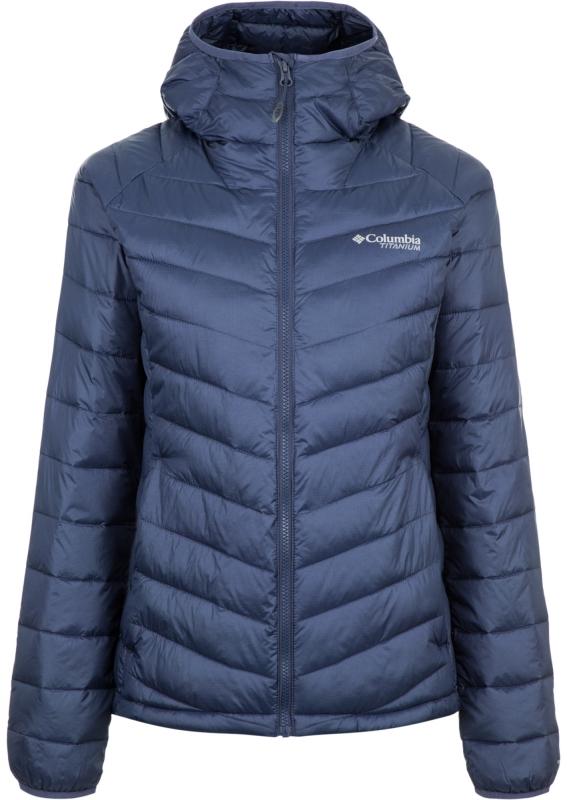 a1e41963078e Куртка Columbia 1823071 Snow Country™ Hooded Jacket женская, цвет синий,  размер 46 Изображение