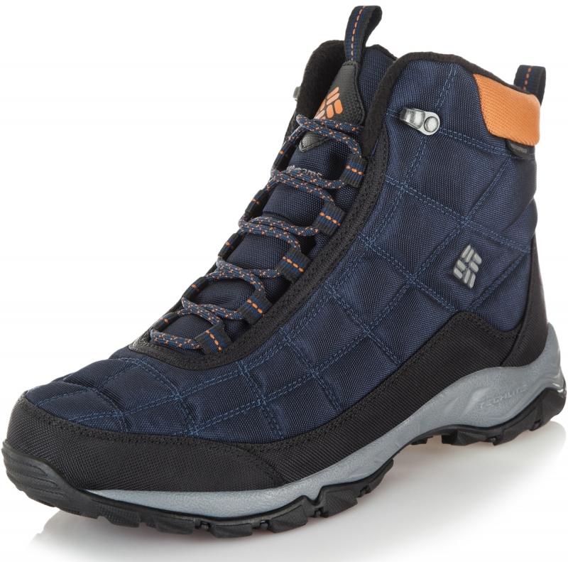 1e7d1adbcc08 Утепленные ботинки Columbia 1672881 FIRECAMP™ BOOT мужские, цвет cиний,  размер 43.5 Изображение 1