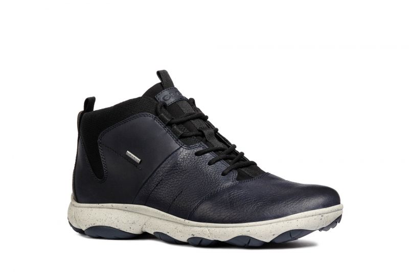 42596a503 Ботинки GEOX U742VA046EKC4002 мужские, цвет синий, размер 44 Изображение 1  - купить в интернет
