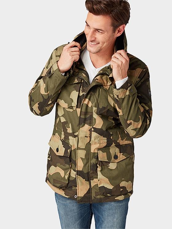 38ca34e4625b Куртка TOM TAILOR 3555322.00.10-7813 мужская, цвет камуфляж, размер M  Изображение