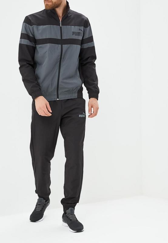 fd1643cbd82b Спортивный костюм PUMA 85155301 CB Woven Suit Cl мужской, цвет черный,  размер 52-